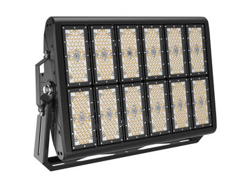 Cina 600 Watt 160lm / W IP67 LED Stadium Lights, Lampu Led Court CE / ROHS / DLC Bersertifikat pemasok