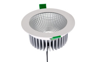 Cina 100 - 240VAC 1688 Lumen 26W Bridgelux COB LED Down Light 50 ° pemasok