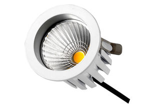 Cina Edison LED IP20 9Watts 750LM Dimmable LED turun lampu, 45 derajat tongkol Hotel light pemasok