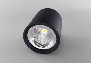 Cina 15W 25W 35W Putaran LED Ceiling Lighting / 20 Gelar Beam Angle COB LED Spot Downlight pabrik